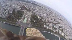 Paris vue du ciel (ou plutôt d'un