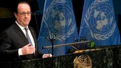Hollande signe le premier l'accord de Paris sur le