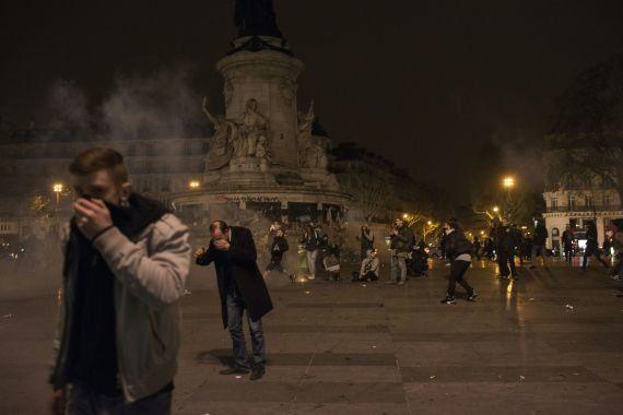 PHOTOS. Douze interpellations après des incidents en marge de la