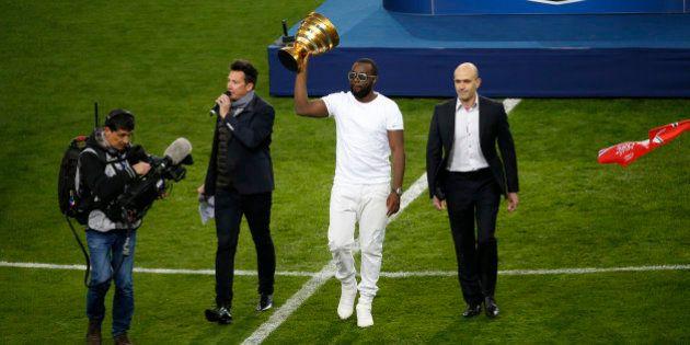 VIDÉOS. Maître Gims hué au Stade de France avant la finale de la Coupe de la
