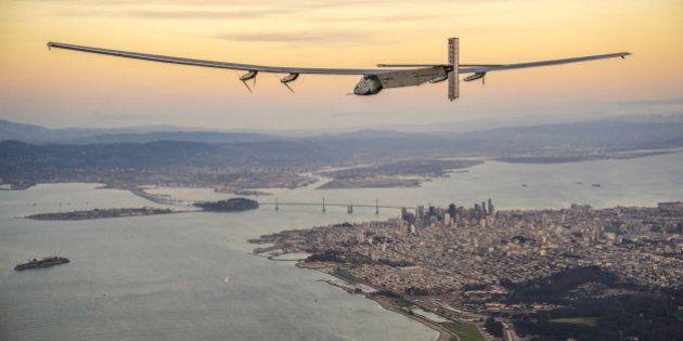 Solar Impulse a réussi sa traversée du Pacifique, son étape la plus
