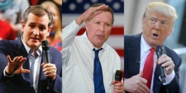 Ted Cruz et John Kasich s'allient pour faire barrage à Donald Trump à la primaire