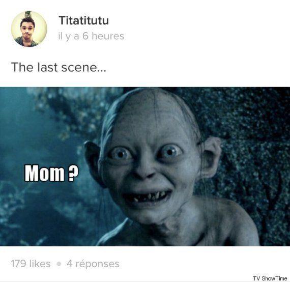 Les internautes analysent et s'amusent de la scène finale du 1er épisode de