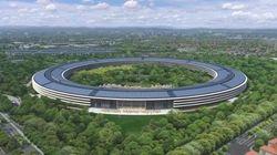 VIDÉO. Campus Apple: Découvrez la première vue 3D du