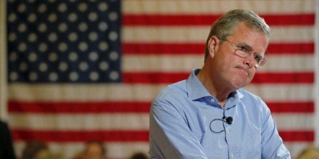 La dégringolade de Jeb Bush dans la course à l'élection présidentielle américaine de