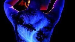 Voyagez à travers ces fabuleux paysages en body painting