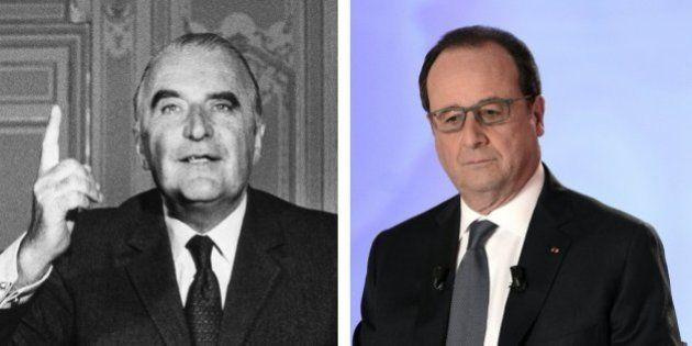 Comme Hollande avec la réforme du CSM, Pompidou avait abandonné une révision