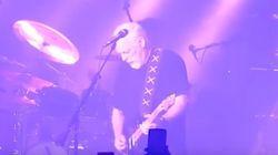 L'hommage du guitariste de Pink Floyd à Prince au beau milieu de son