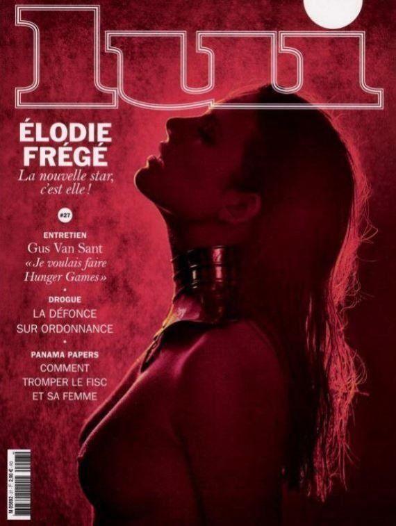 Nouvelle Star: Élodie Frégé pose seins nus pour Lui