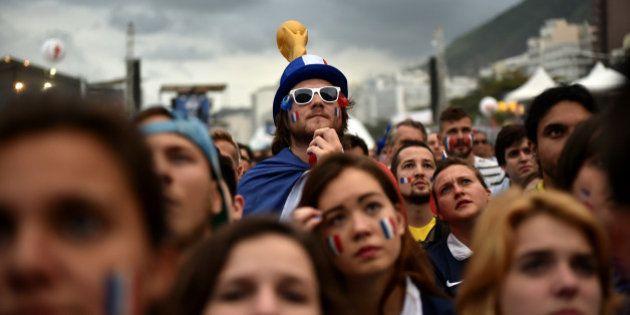 La France en huitièmes de finale de la Coupe du monde 2014 sauf