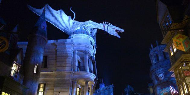 PHOTOS. Harry Potter: Découvrez à quoi ressemble le Chemin de traverse du parc