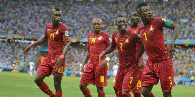 Allemagne - Ghana: la danse des joueurs ghanéens séduit les réseaux