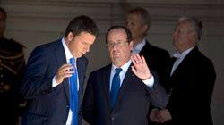 Sommet européen chez le dernier allié de Hollande, Matteo