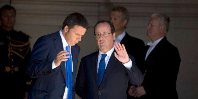 Sommet européen sur l'emploi: François Hollande en visite chez son dernier allié, Matteo