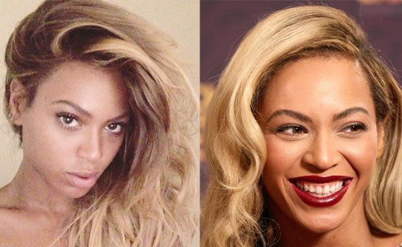 PHOTO. Beyoncé sans maquillage (ou presque) sur