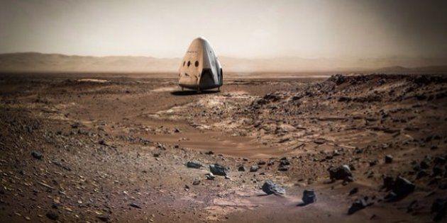 Elon Musk veut envoyer une fusée sur Mars dès 2018 avec