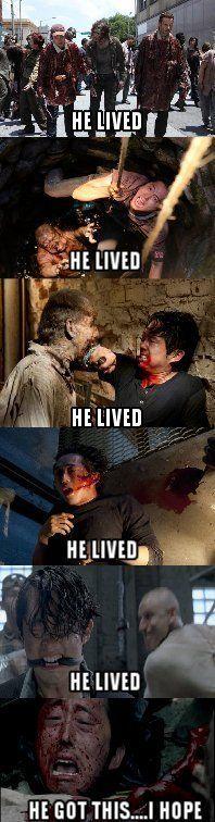 The Walking Dead saison 6 épisode 3 : un des personnages principaux est mort (ou plutôt pas selon plusieurs
