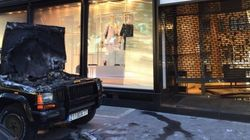Cambriolage impressionnant de la boutique Chanel avenue