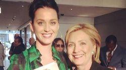 Katy Perry propose à Hillary Clinton de lui écrire un hymne de