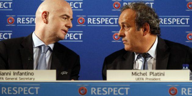 Gianni Infantino candidat de l'UEFA à la présidence de la Fifa (si Michel Platini ne peut se