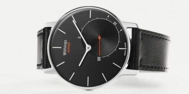 Withings Activité : la montre connectée qui