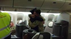 Ce pilote a fait une très belle surprise à son fils