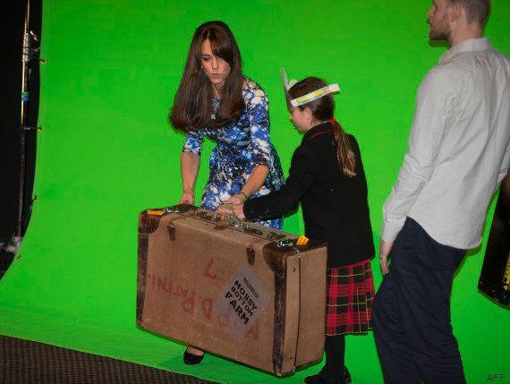 VIDÉO. Kate Middleton a tourné une scène de Shaun le mouton sur fond