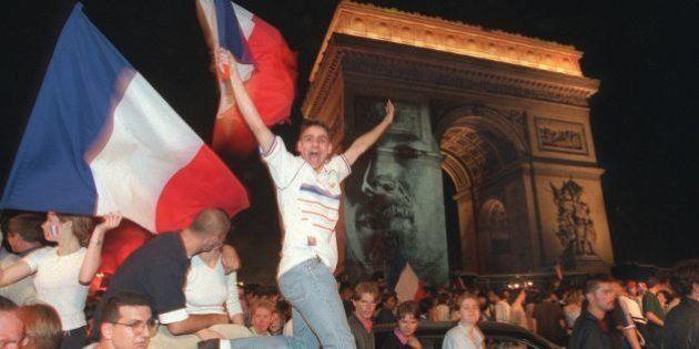 Avant l'Euro 2016, il y a eu France 98. Et ça ressemblait à