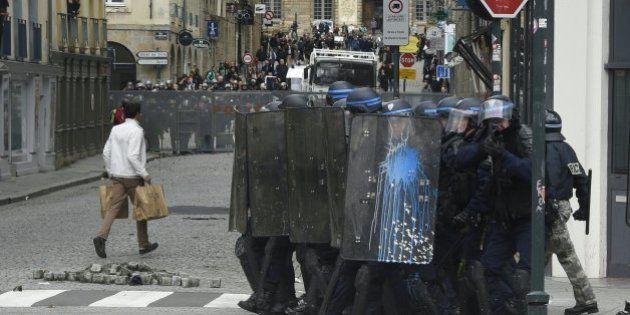 Un étudiant perd l'usage d'un oeil pendant la manifestation contre la loi travail à Rennes, l'IGPN
