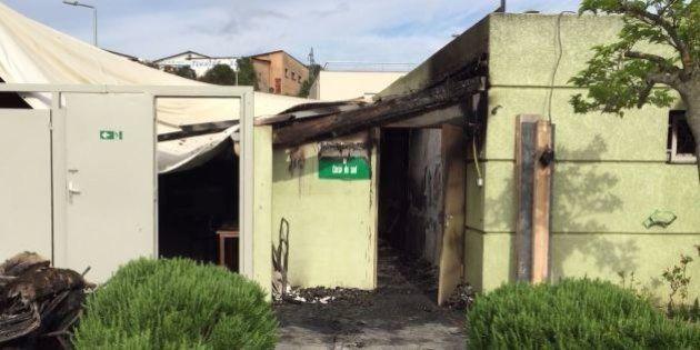 Une salle de prière musulmane détruite dans un incendie à