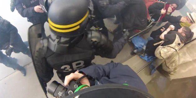 L'histoire derrière cette vidéo virale de la manifestation du 28 avril contre la loi