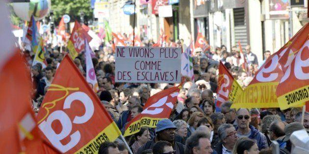 Pour la fête du travail 2016, 84.000 manifestants sont descendus dans la
