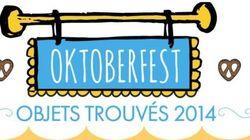 Oktoberfest 2014 : les objets trouvés les plus fous de cette
