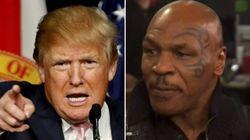 Mike Tyson soutient (à fond) Donald Trump au HuffPost