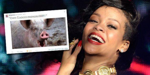 Coupe du monde 2014 : Rihanna et ses 10 meilleurs tweets pour le