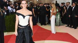 La robe que portait Emma Watson au Met gala n'était pas une simple