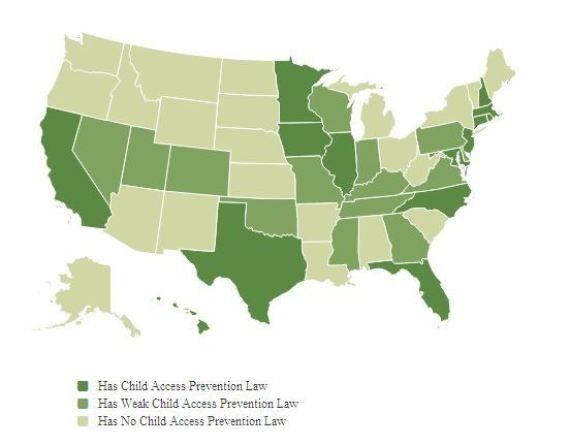 Armes à feu aux États-unis: une publicité pour inciter les parents à ranger leurs