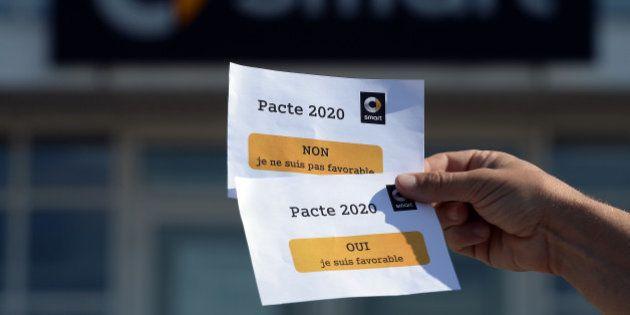 Deux syndicats sur quatre signent le retour aux 39 heures chez Smart