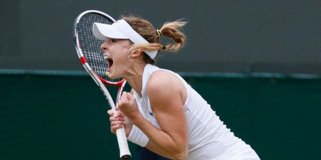 Wimbledon: immense exploit d'Alizé Cornet face à Serena