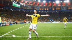 Regardez les buts de Colombie -