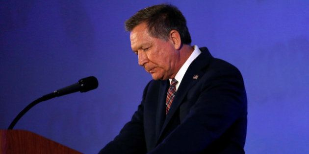Republican U.S. presidential candidate John Kasich speaks at the California GOP convention in Burlingame,...
