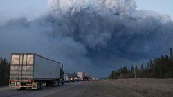 Le feu qui ravage le Canada fait huit fois la taille de