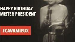 Hollande célèbre l'anniversaire de son élection, la droite lui fait sa