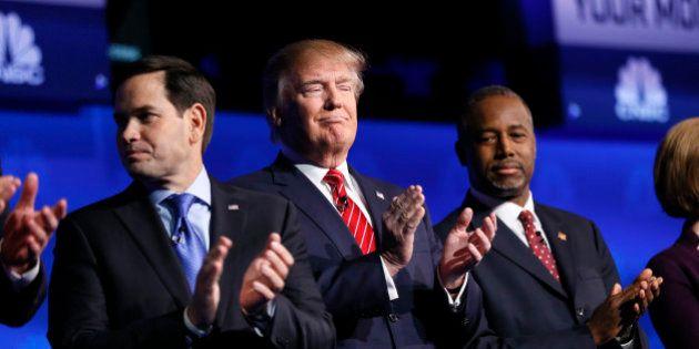Au débat républicain, Trump et Carson ont eu du mal à défendre leur