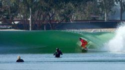 Ces surfeurs pro ont adoré la vague artificielle (parfaite) de Kelly