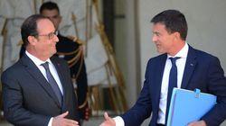 Hausse de la cote de popularité de François Hollande et Manuel