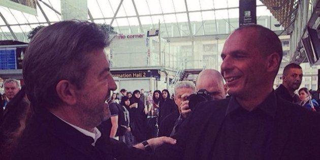 Jean-Luc Mélenchon et Yanis Varoufakis se rencontrent et évoquent un