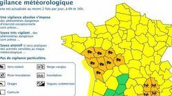 L'Hérault et le Gard sous la menace de violents