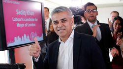 Sadiq Khan élu maire de