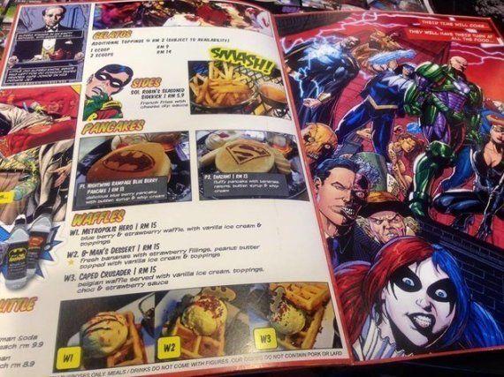 PHOTOS. Un café Batman à Kuala Lumpur, le rêve des fans du Chevalier